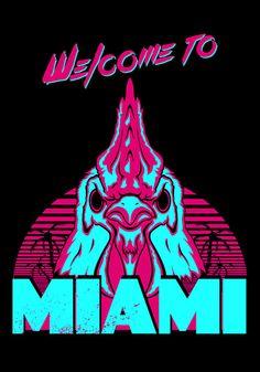 Welcome to Miami - I - Richard by James Camilleri Hotline Miami