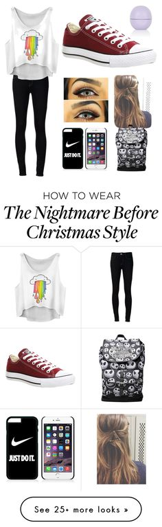 """""""Cool """" by lilocean on Polyvore featuring Ström, Converse, NIKE and Topshop"""