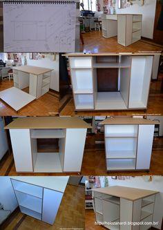 DIY -  Work table workstation