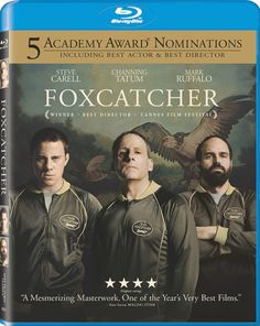 #Foxcatcher is OUT TODAY on Blu-ray and Digital HD! Be a part of #TeamFoxcatcher and get a copy of the film Channing Tatum calls the most challenging film he's ever done: http://www.amazon.com/Foxcatcher-Blu-ray-Mark-Ruffalo/dp/B00QK4ANEI/?tag=sphe-foxcatcher-social-20