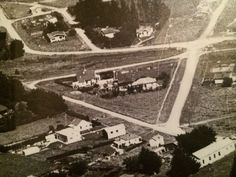 Aerial Photo of Ormondville circa In the triangle of roads stands the Ormondville Police Station five years after closing. Police Station, Roads, City Photo, Triangle, Polaroid Film, Road Routes, Street