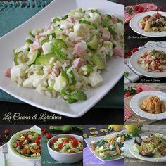 Una raccolta di ricette semplici per preparare dei Primi Piatti freddi estivi da mangiare in spiaggia o a un picnic, o al ritorno dopo una giornata di mare