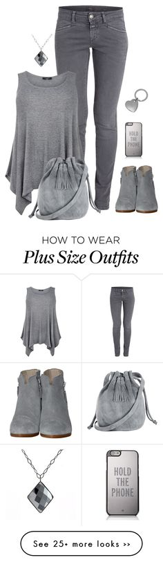 """It's a grey day"" by molly2222 on Polyvore featuring rag & bone, Warehouse, Kate Spade, ADORNIA, Mulberry, grey, back2school and simplebutneverplain"