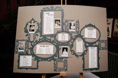 Simple & Stylish Vintage London Wedding Seating Plan www.hayleysavagephotography.co.uk