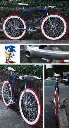 "Pignon fixe ""Sonic' de Basile !"