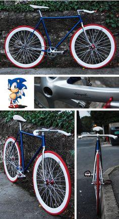 "Pignon fixe ""Sonic' de Basile"