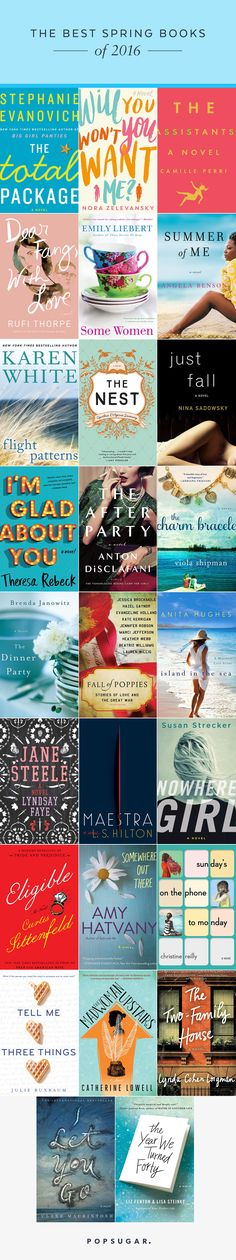 26 Books You Should Read This Spring