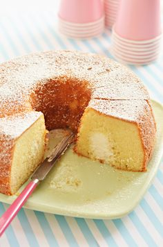 "Twinkie Bundt Cake. ""This cake is essentially an enormous from-scratch version of the iconic American snack cake, with the vanilla flavor amplified and made with pronounceable ingredients. It's golden and terrifically moist, and its cream-filled cross-section is an instant joy-inducer."""
