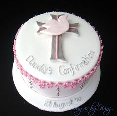 Confirmation Cake   My first of several upcoming confirmatio…   Flickr