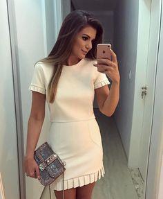 """9,096 curtidas, 67 comentários - Blog Trend Alert (@arianecanovas) no Instagram: """"Começando meus post de hoje da marca @doceflorsp ❤️ Blusa floral com renda na gola com saia…"""""""