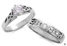 celtic know wedding rings