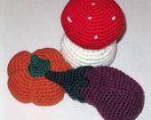 verdure amigurumi in lana lavorate all'uncinetto : Accessori casa di giovanna-cargnelli