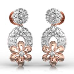 Floral Charm Earrings