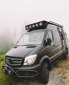 Go to Nomad Vanz to design and create your Dream Van conversion. Off-grid living, expedition adventure travel, bespoke premium van builds . Mercedes Benz Vans, Mercedes Sprinter Camper, 4x4 Camper Van, Off Road Camper Trailer, Van Camping, Camping Life, Ambulance, Narrowboat Interiors, Custom Camper Vans