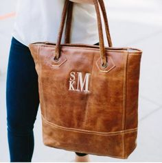 Introducing our new Spring 2017 Rustic Leather Tote Soft and broken in distressed leather in a rich dark brown is the perfect bag for everyday shopp