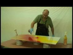 Abstract Contemporary Modern Art Painting Technique by Igor Turovskiy - YouTube