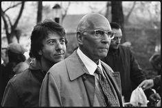 Dustin Hoffman & Laurence Olivier in 'Marathon Man'