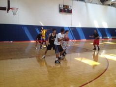 Included in every membership is access to our basketball courts!