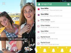 Snapchat integra messaggi di testo e videochat - http://www.tecnoandroid.it/snapchat-integra-messaggi-di-testo-e-videochat/