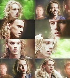 Jamie Campbell Bower film stills from 'Camelot' - to me he makes the perfect King Arthur.