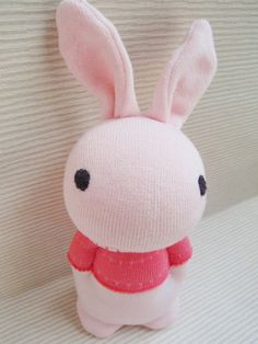 how to make a sock bunny no sewing