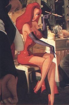 """I'm not a bad girl, I was just drawn that way."" Who Framed Roger Rabbit one of my favorites when I was younger!"