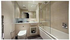 Marble and limestone bathroom.