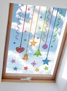 vánoční výzdoba oken - Hledat Googlem Christmas Decorations, Holiday Decor, Advent Calendar, Home Decor, Ideas, Xmas, Decoration Home, Room Decor, Advent Calenders