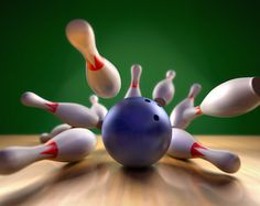 Photo about A fun render of a bowling ball crashing into the pins. Extreme perspective, depth of field focus on the ball. Image of competition, isolated, strike - 7590023 Bowling Pins, Bowling Ball, Bowling Games For Kids, Poster Xxl, Poster Mural, Companies In Dubai, Cover Letter For Resume, Cover Letters, Depth Of Field