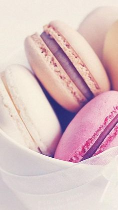 macaron wallpaper for iPhone and Android
