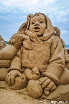 Fulong International Sand Sculpture Festival Taiwan Happy Baby