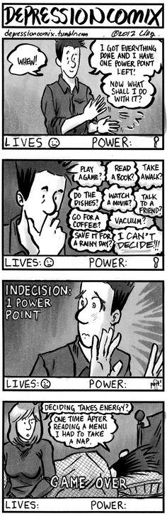 depression comix #93  A sequel of sorts to depcom#89.