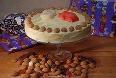 WORTELTAART (CARROT CAKE) VOOR SINTERKLAASAVOND