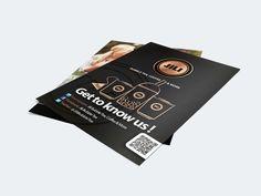 Flyer design for Jili by Green Creatives Advertising agency Corporate Design, Flyer Design, Branding Design, Logo Design, Flyer Layout, Bubble Tea, Advertising Agency, Bubbles, Typography