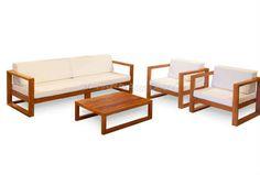 Image result for sofá madeira varanda