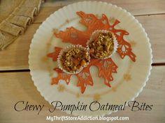 Chewy Pumpkin Oatmea