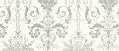 Josette Silver Glitter Wallpaper at Laura Ashley