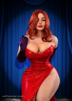My jessica rabbit cosplay, made by me.Photography by Yassir Ketchum
