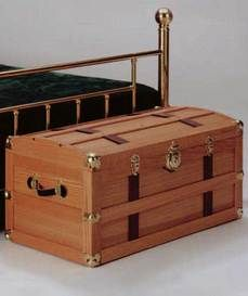 Build Your Own Steamer Trunk Downloadable Plan