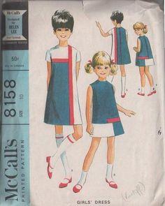 McCall's 8158 #Vintage 60's