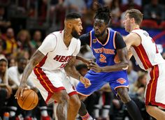 Photo              The Knicks' Maurice Ndour defending against Miami Heat's James Johnson during the first half on Friday.                                      Credit             Joel Auerbach/Associated Press                      MIAMI — Kristaps Porzingis scored 22 points, Courtney Lee...  http://usa.swengen.com/on-the-road-knicks-earn-a-rare-win-against-the-heat/