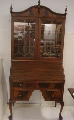 Lot #67 (5th Oct, 14)   Live Auctioneers Mahogany SHAW Secretary,