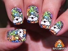 BP-L077 Nail Stamping, Nails, Nail Art, Finger Nails, Ongles, Nail, Nail Manicure