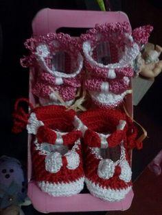 sapatinhos Crochetsruth Costa    eu que fiz     estou no facebook