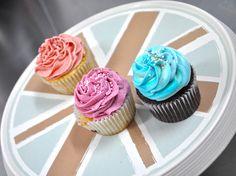 #Cupcakes #tricolor varios #sabores
