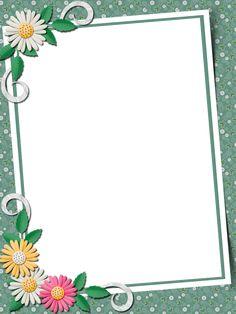 Boarder Designs, Frame Border Design, Page Borders Design, Flower Backgrounds, Flower Wallpaper, Printable Border, Printable Labels, Picture Borders, Boarders And Frames