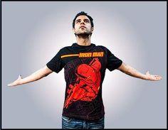 Iron Man Pirate Men`s T-shirt