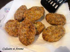 Chiftele de ciuperci – Culoare si Arome Ethnic Recipes, Food, Essen, Meals, Yemek, Eten