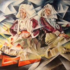 """""""Colori di Sennori"""", opera di Antonio Milleddu"""
