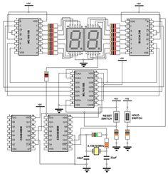 Digital Stopwatch Circuit Diagram Check more at…